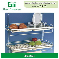 Attractive beautiful metal wire caddy basket