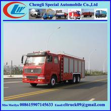 Electric fire truck,25000 L fire truck,Hot Sale Aerial Ladder Fire Truck For Sale