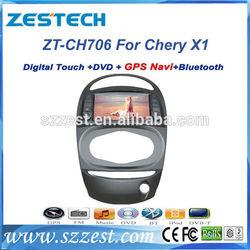 "ZESTECH Dvd player bluetooth GPS TV 7"" car dvd for Chery X1 car dvd with gps"