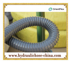 Flexible Corrugated PVC Suction tube for conveying water oil powder and mineral sands