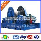 Construction Site Material Handling Crane Machine Hoisting Winch 25 ton