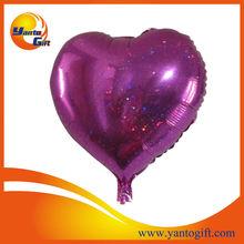 Holographic Heart Shape Foil Balloons