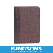 "8"" PU tablet case for Samsung, tablet folio case"
