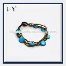 2014 paua shell jewelry handmade bracelet link bracelet jewelry for summer
