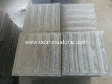 Grey granite guide strip
