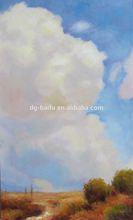 Modern avestruz pintura a óleo mais recente projeto