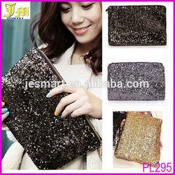 Newest Cheap Fashion Dazzling Women Party Evening Spangle Sequins Clutch Bag Handbag Wallet Purse Ladies