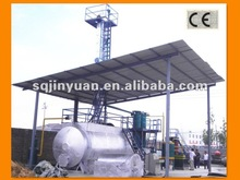 JINYUAN used motor oil distillation machine