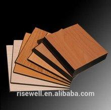 DEBO orange yellow hpl phenolic compact laminate board