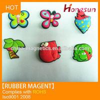 customized permanent fridge/refrigerator rubber magnet