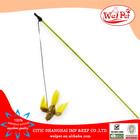 flying bird plastic stick cat teaser toy
