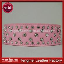 New style discount pet diamond studded dog collar