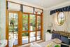 Top luxury series of aluminum composite wood Windows and doors with blockbuster launch new design