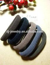 Fashion 30% Nylon and 70% Cotton Yarn girls hair band,hair rubber