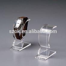 Acrylic watch display/custom acrylic advertising acrylic watch display wholesale