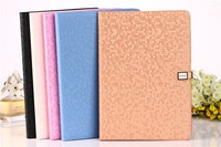 New colored litchi flip smart leather case for Ipad in stock