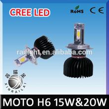 Cree Led Headlight Kit15W 2150 Lumen Moto Led Headlight