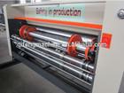 water ink flexo corrugated cardboard printing slotting machine/flexo printer slotter machine