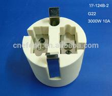 lamp hoder ceramic G22