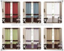 Classic home textle curtains, Faux silk window curtain