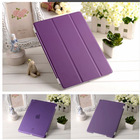 3 Folding leather smart cover case for ipad/ for ipad smart cover