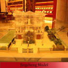 Scale model maker/model miniature house/ model of building using transparent mateiral
