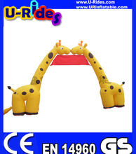 inflatable starting line arch