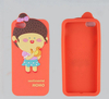 Customized Design Cartoon Soft Silicone Phone Case for iPhone 4S 5S Bulk Cheap Mobile Phone Case Cover Wholesale Cell Phone Case