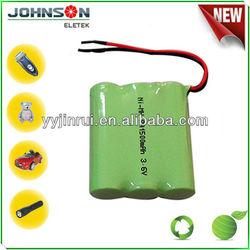 nimh aa 1200mah 3.6v recharge battery Environment battery
