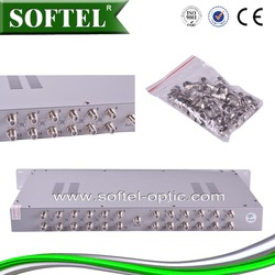 16 channel mixer,passive combiner/modulator/catv optical transmitter,75 ohm terminator/24 channel mixer