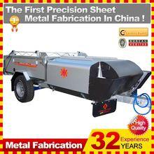 2014 hot sell fiberglass reinforced plastic camper trailer,china manufacturer with oem service