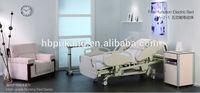 five-function electric hospital bed manufacture,high grade nursing bed DA-2-1