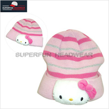 hot sale cute knit beanie children cap