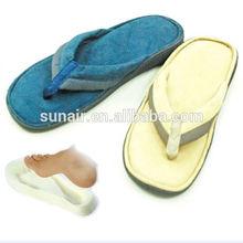 Memory foam flip flop sandals