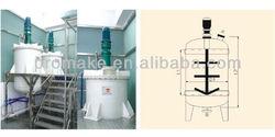 PMK Polypropylene anti-corrosive YEX-B-1000 plastic high-speed mixer
