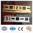 high quality custom made colorful anodized aluminum stair nose trim