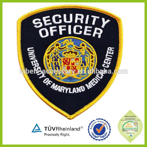 Security Guard Patch Design