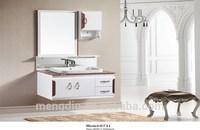 Modern bathroom furniture bathroom vanity cabinet ,mirror and basin