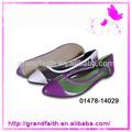 mais recente moda muito confortável plástico sapatas da bailarina