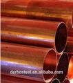 Astm b280 de cobre sin costura tubo de agua/tubería