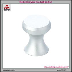 D1071 galvanized furniture drawer reel handle knob