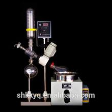 Reduced pressure rotary evaporator unit for lab distillation