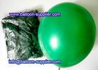Dark Green non latex balloons