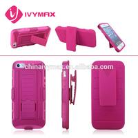 for Iphone 5/5s Rugged Hybrid Hard Case Belt Clip Holster