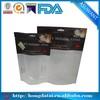 white fresh vegetables plastic bags