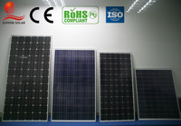 top quality poly and mono high efficiency 12v 300w solar panel for home use and inverter manufacturer in china