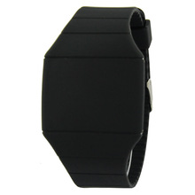 Mixed Colors Offer Promotional Watch Plastic Silicone