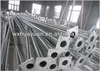 galvanized steel tapered pole