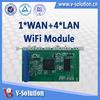 Wlan Router Module,1WAN+4LAN 11n 1T1R