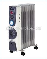 CE/GS/EMC Approval Oil Filled Radiator with turbo fan Model No.: 1410